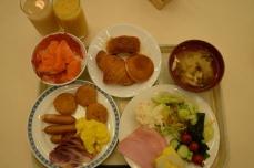 新富良野プリンスホテルの朝食②