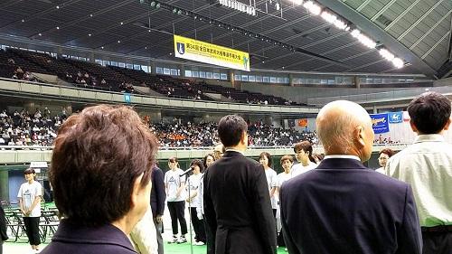 東京体育館へ!③