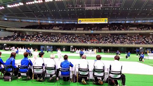 東京体育館へ!④