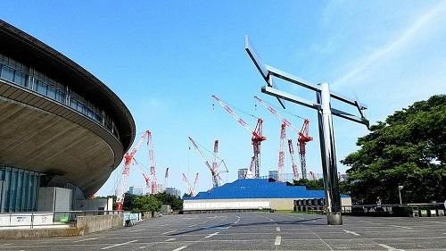 東京体育館へ!⑥