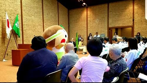 「ねんりんピック」栃木県選手団を激励に!②