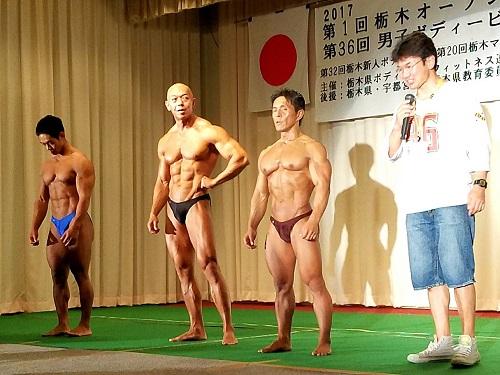 第36回 男子栃木ボディビル選手権大会・第1回 栃木オープン(フィットネスビキニ・メンズフィジーク)選手権大会⑥