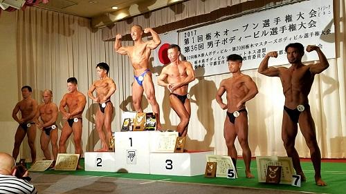 第36回 男子栃木ボディビル選手権大会・第1回 栃木オープン(フィットネスビキニ・メンズフィジーク)選手権大会⑩
