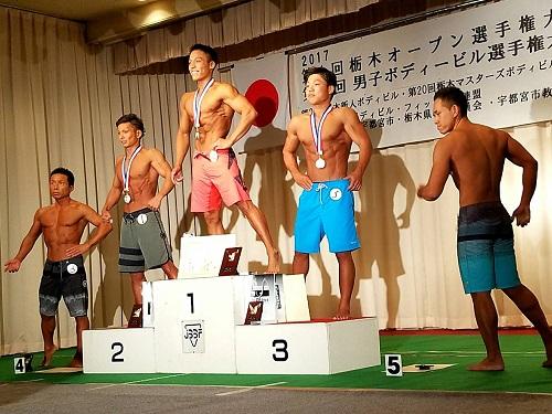 第36回 男子栃木ボディビル選手権大会・第1回 栃木オープン(フィットネスビキニ・メンズフィジーク)選手権大会⑭