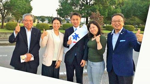 栃木1区 無所属<渡辺のりよし>候補 出陣!①