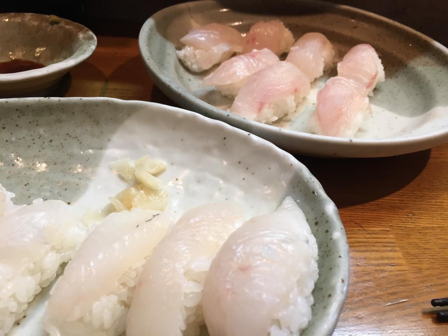 カイワリ 鯛 寿司