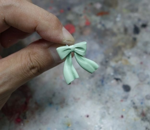 薄緑塗装4