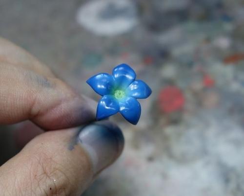 花飾り塗装6