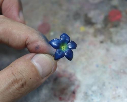 花飾り塗装7