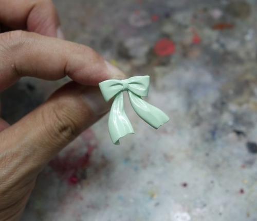 薄緑塗装3