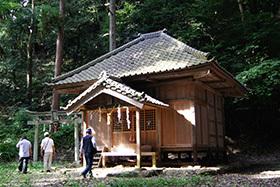 170905元金砂郷神社ケヤキ④
