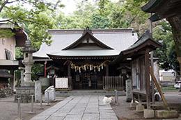 170924熊谷 高城神社のケヤ