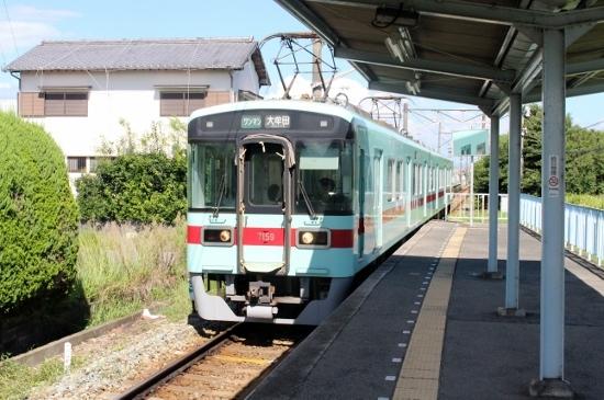 ⑳古賀茶屋駅ホーム