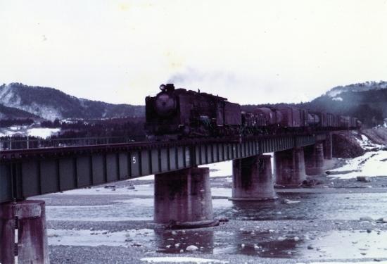 ③越後下関~越後片貝荒川橋梁