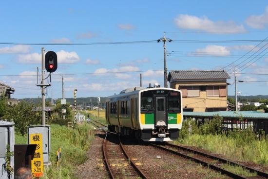 ⑤横田駅到着