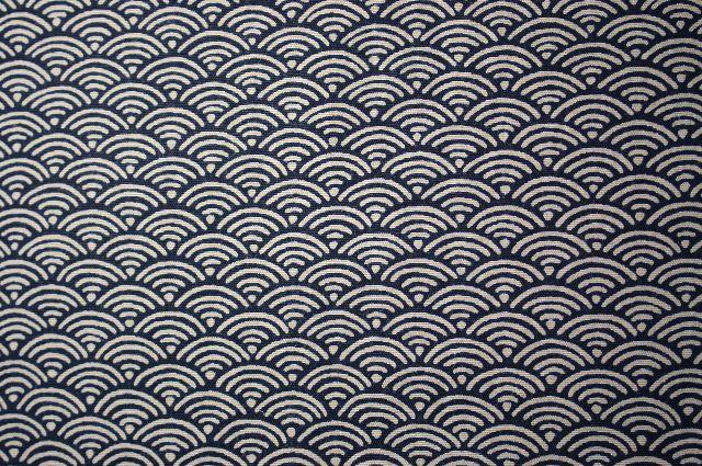 青海波の手彫り印鑑 縁起がいいハンコに印相体は使われません