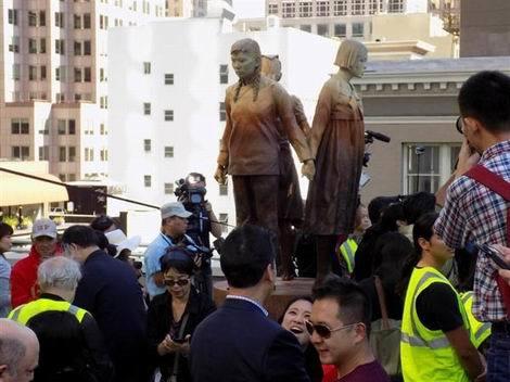 サンフランシスコの慰安婦像(470x352)