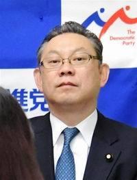 民進党の小川勝也参院幹事長(200x263)