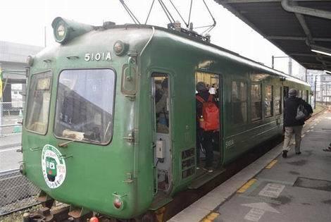 熊本電鉄の「青ガエル」(470x315)