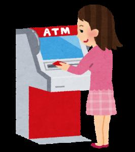 ATM、金