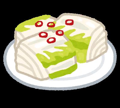 食品、漬物、白菜