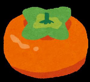 フルーツ、柿