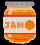 ジャム、マーマレード、オレンジ、みかん