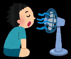 節電、扇風機