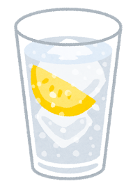 ソーダ、ラムネ、レモン