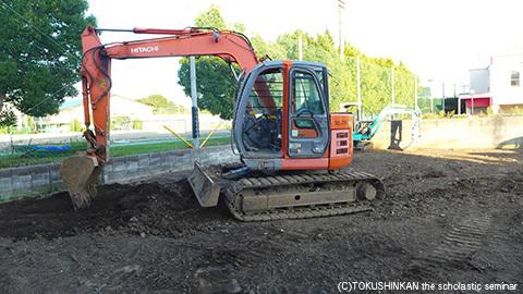 駐車場工事2017b