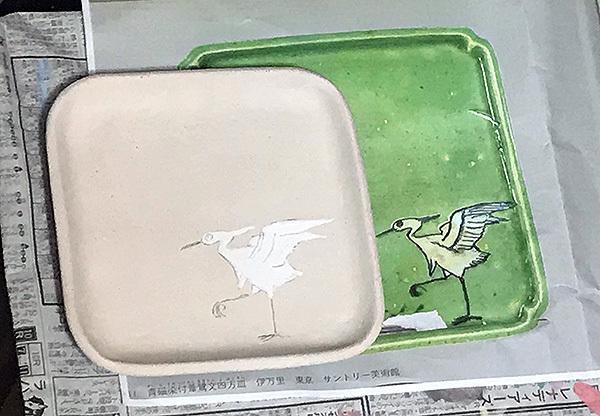 2017_9_16トルコ釉角皿7
