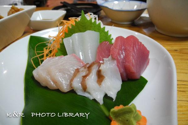 2016年11月5日奄美大島・神鷹10島魚の刺身4点盛り