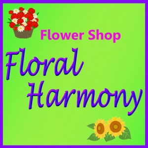 Floral Harmony Signboard