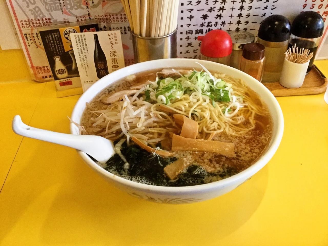 元祖 満腹ラーメン 富田屋(ジャンボラーメン)