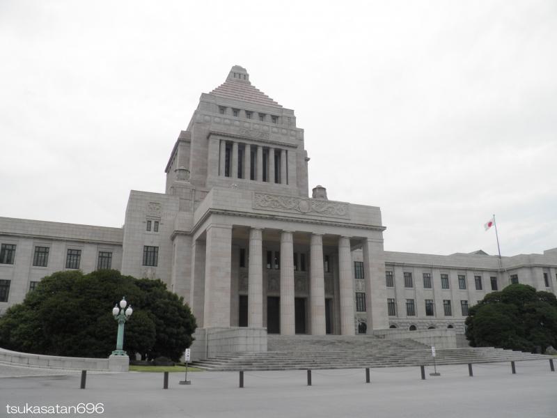 20170825_kokkai_gijido_01@国会議事堂の写真