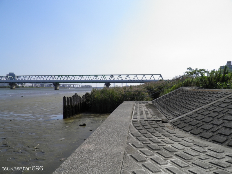 20170910_funabori_bridge_01@仮面ライダーのロケ地の船堀橋の写真