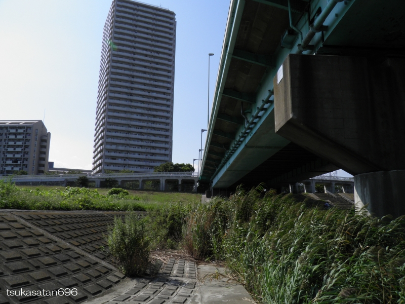 20170910_funabori_bridge_02@仮面ライダーのロケ地の船堀橋の写真