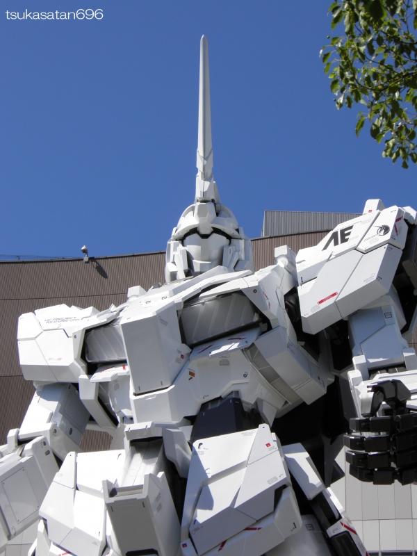 20170918_odaiba_gundam_0003@ダイバーシティ東京プラザの実物大ユニコーンガンダム立像の写真