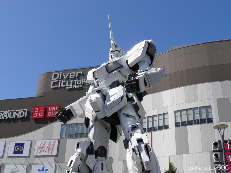 20170918_odaiba_gundam_0004@ダイバーシティ東京プラザの実物大ユニコーンガンダム立像の写真