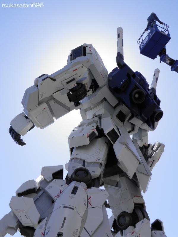 20170918_odaiba_gundam_0005@ダイバーシティ東京プラザの実物大ユニコーンガンダム立像の写真