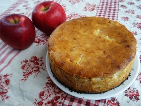 りんごとさつまいものチーズケーキ