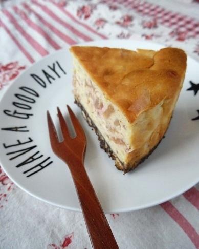 りんごとさつまいものチーズケーキ2