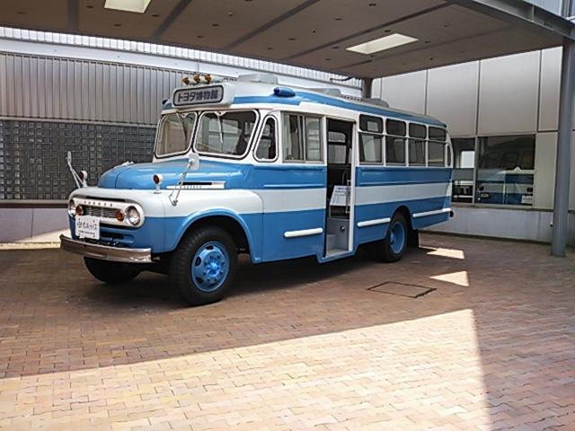 トヨタ ボンネッットバスFB80型(1963年)201706-1
