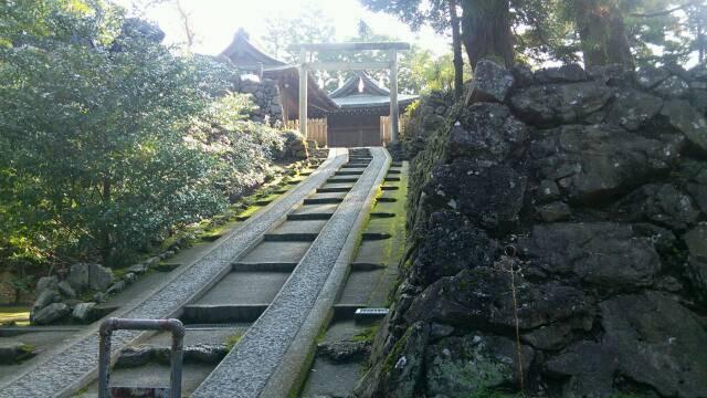 唐沢山本丸跡の神社