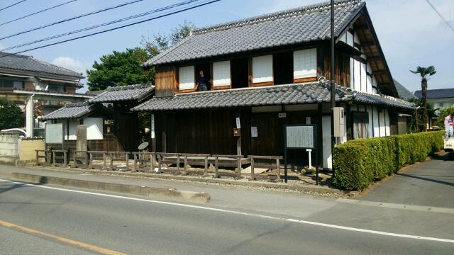 田中正造旧宅