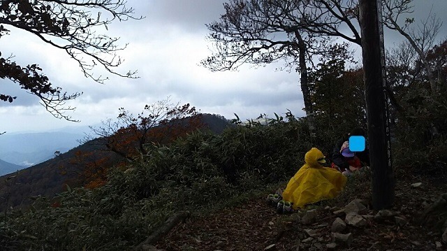 171025 後山山頂③ ブログ用目隠し