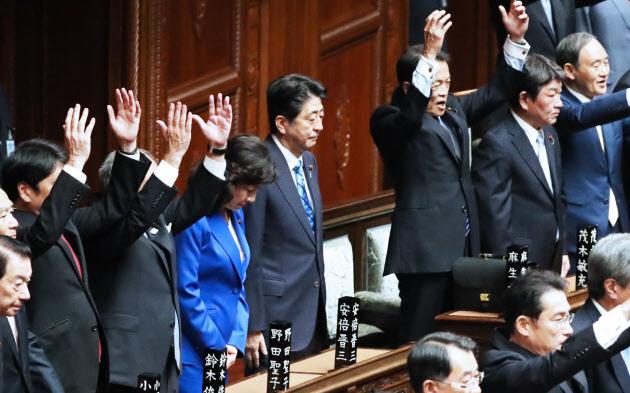 96958A9E93819481E0EA9安倍総理 衆議院解散