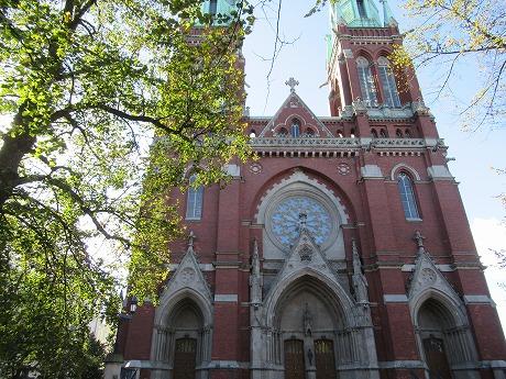 聖ヨハネス教会外