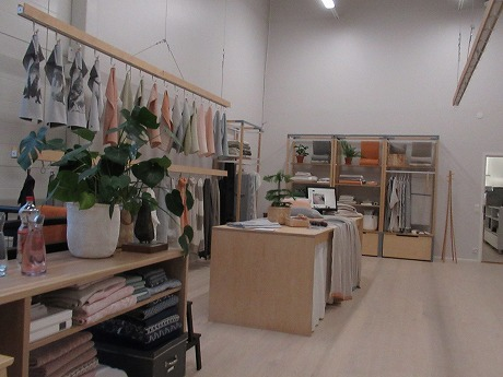 ラプアンカンクリ工場内製品展示