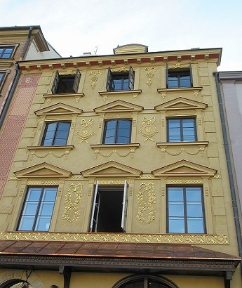 ワルシャワ旧市街建物